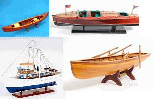 Wooden Boat Models