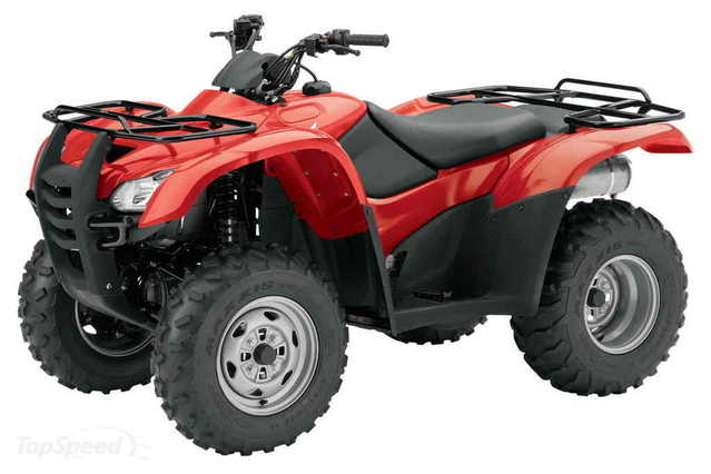 2007 4x4 Honda Fourtrax Rancher Atv - Mint - Only 75 Hrs.