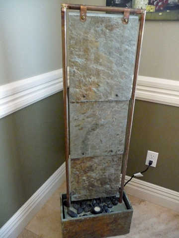 Water Fountain - Solid Slate - Floor Standing
