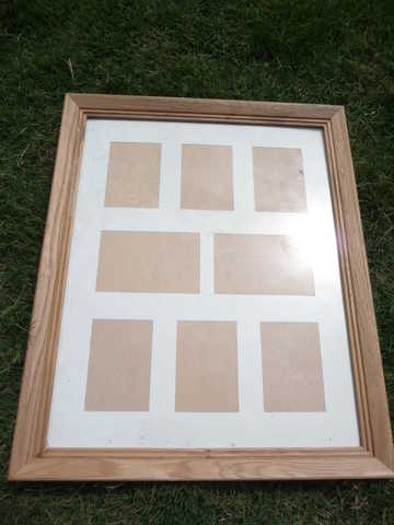 Solid Oak Picture Frame 18 X 22