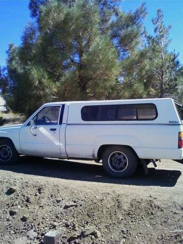 84 Toyota Truck; Long Bed With Top; Runs Well