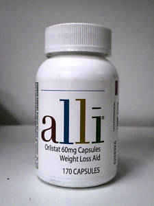 Alli Orlistat 170 Capsules 60mg Capsweight Loss Aid Expires 01 / 12