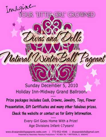Divas And Dolls Natural Winter Ball Pageant