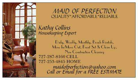 Maid Of Perfection Cleaning Service