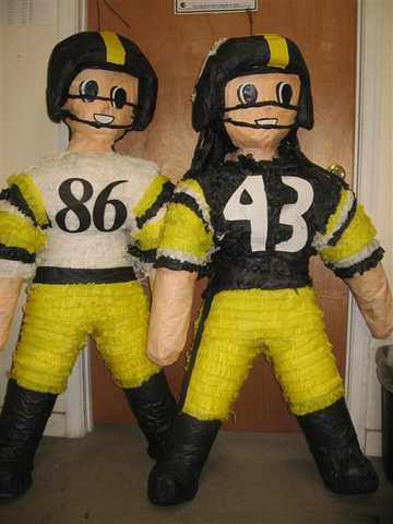 Football Player Pinatas