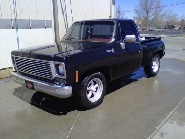 1977 C10 Chevy Stepside