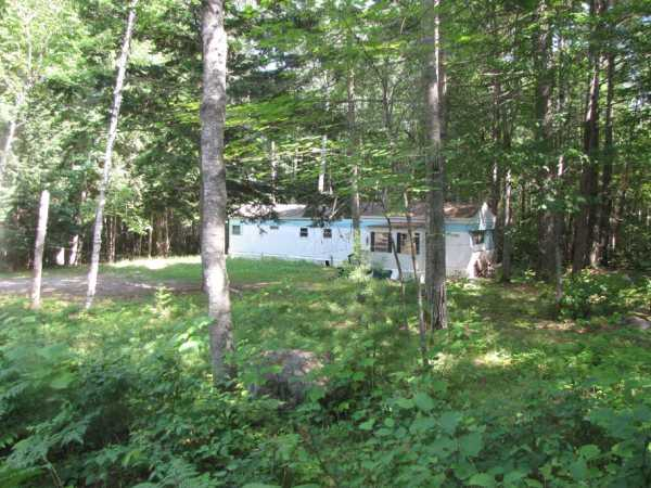 One Acre Wooded Lot Located 1 / 8 Mile From West Grand Lake