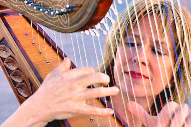 Harpist Available For Weddings And Special Events