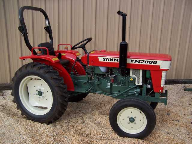 Tractor Package Ym2000