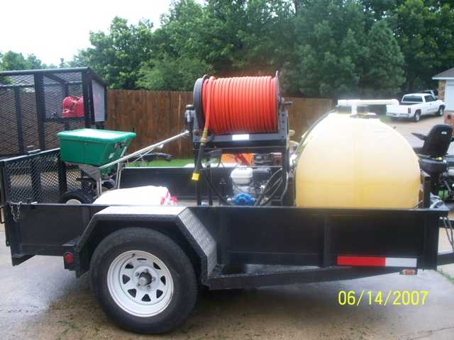 Commercial Chemical Spray Rig