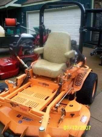 Scag Tiger Turf Ztr Mower - $8500