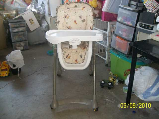 High Chair And Infant Car Seat