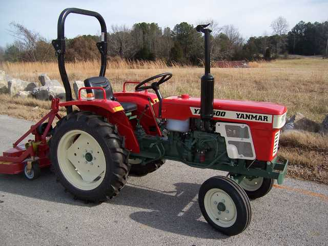 Low Price Tractor With Warranty - Refurbished Yanmar Utda Certified