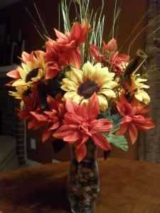 Fall Flower Arrangements (Artificial)