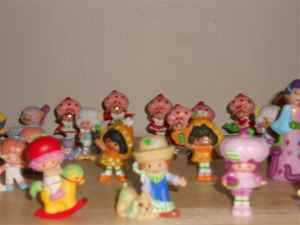 Strawberry Shortcake Items From 80's, Take All Or By Piece