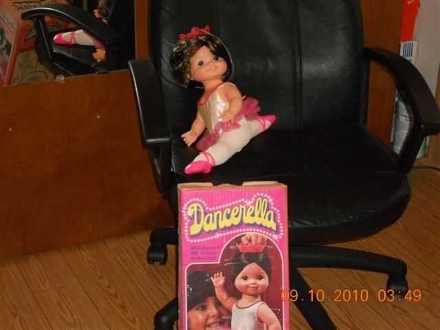 Vintage 1978 Mattel Dancerella Box No 2314