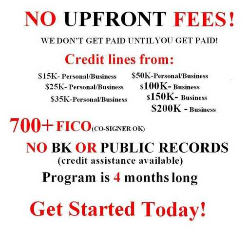 10k - 250k Career / Personal Funding In 1 - 6 Months (No Upfront Fees)