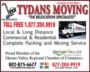 Vermont Moving And Labor Services