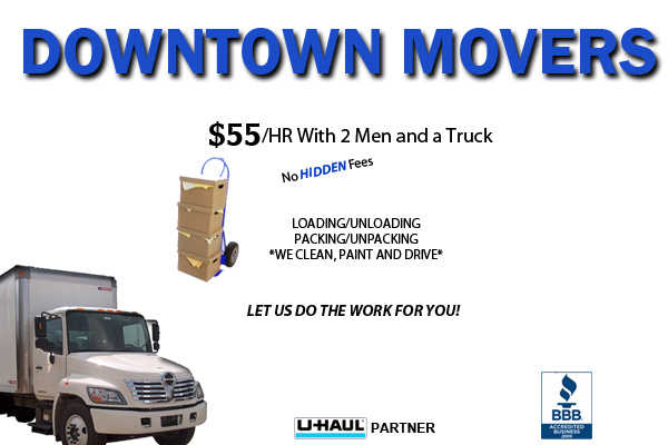 $55 / Hr Downtown Movers