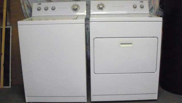Estate Washer & Dryer By Whirlpool