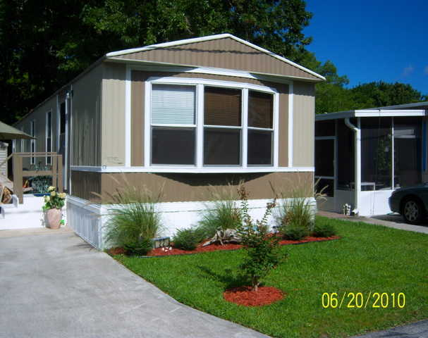 Minutes To The Beach 2 / 1 Manufact Home In 55+park - Furnished