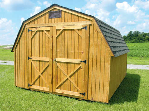 Weather King Wooden Storage Sheds