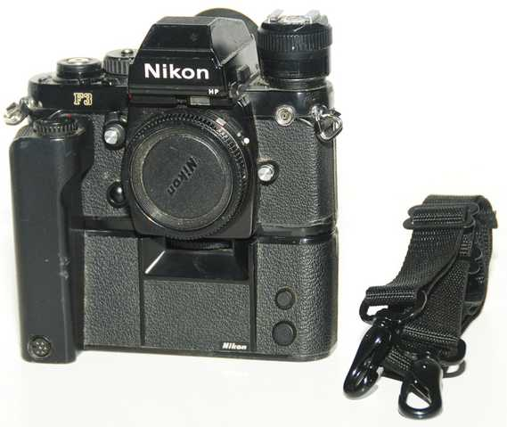 Nikon F3 With 2 Lens, Motordrive + = $580.00