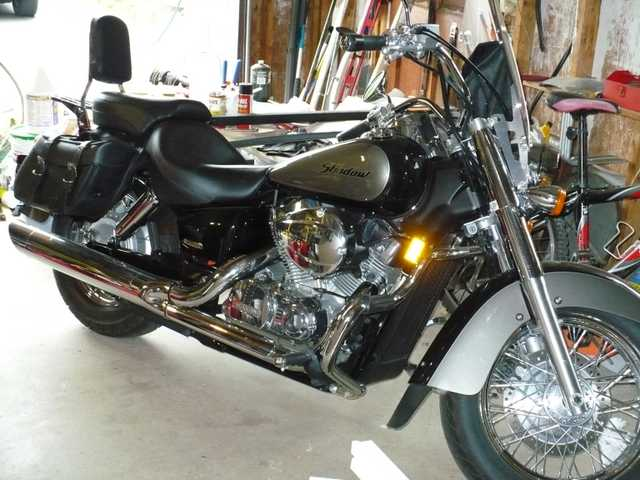 2007 Honda Shadow Aero 750.