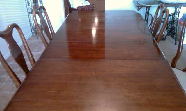 Dining Table Solid Cherry Wood $200.00