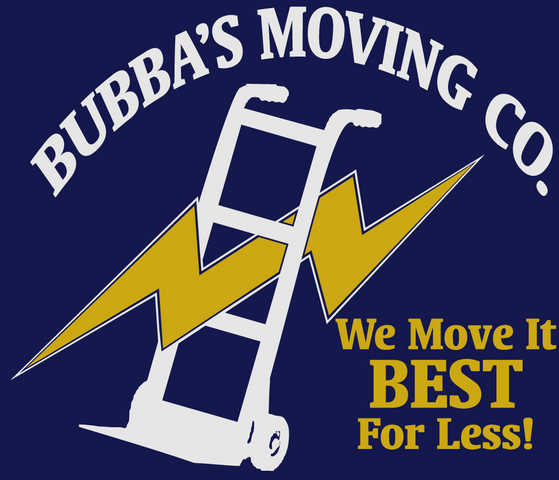 Bubba's Moving Company We Move It Best For Less!