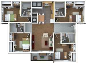 Subleasing 2 Bedrooms