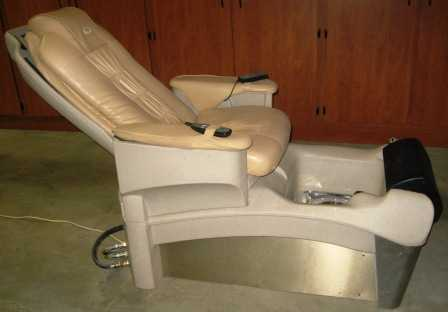 Like new european touch pedicure chair used european for True touch massage experience luxury spa chair