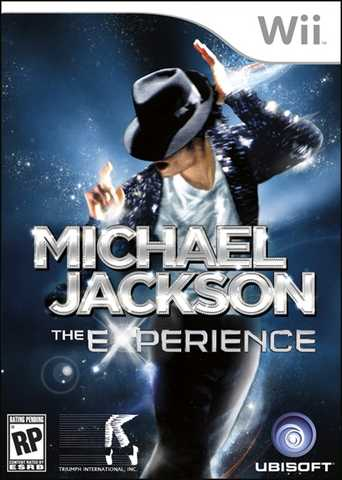 New Michael Jackson The Experience Video Game 2010 Xmas Wii Ps3