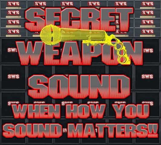Secret Weapon Sound - Affordable Contract Live Event Sound