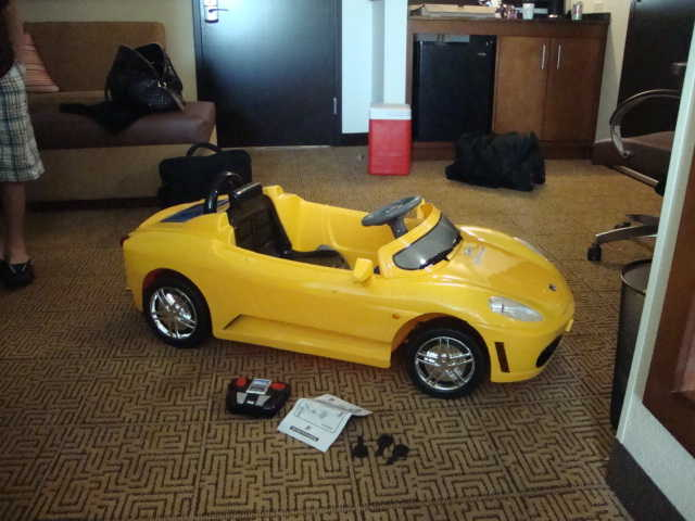 Yellow Toy Ferrari Car For Sale 275$