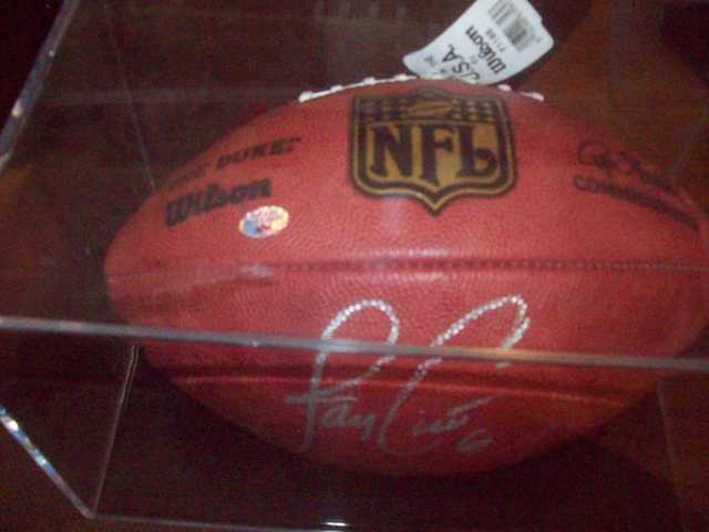 Jay Cutler Auto Football