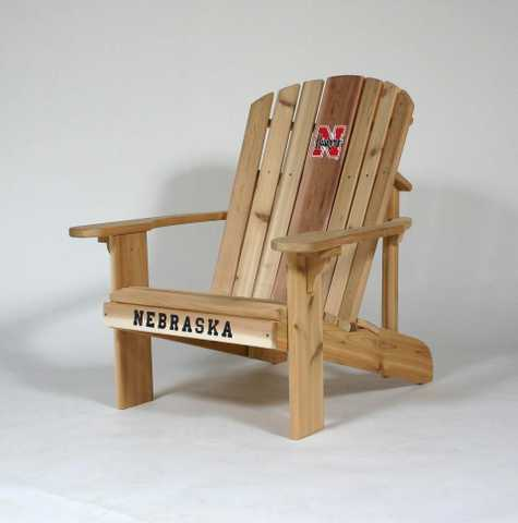 College Logo Wooden Folding Chairs