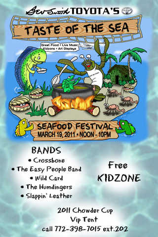 Vendors Wanted For Seafood Festival March 19
