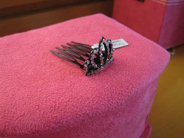 Hair Pin. Princess. Crown.
