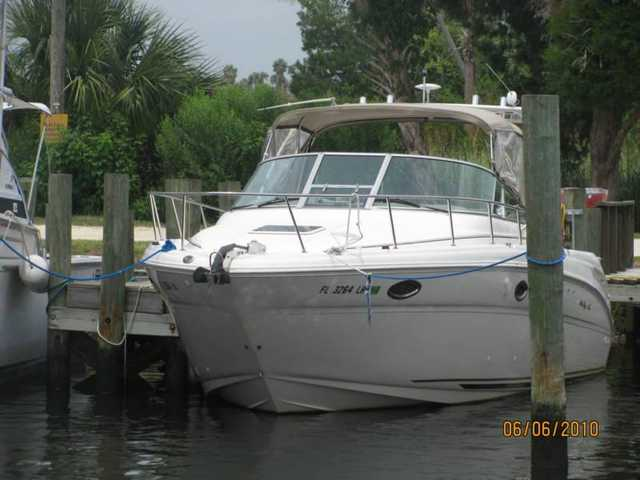 2000 Sea Ray 290 Amberjack Twin Engine 240hp Powerboat Cruiser
