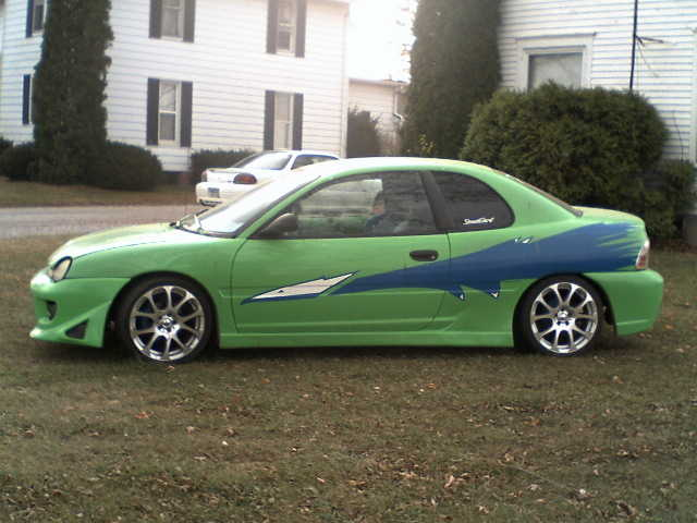 1996 Fast And The Furious Look - A - Like Neon
