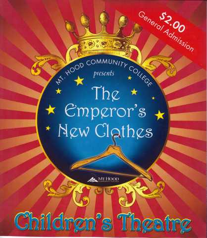 Mhccs Childrens Theater Production Of The Emperors New Clothes