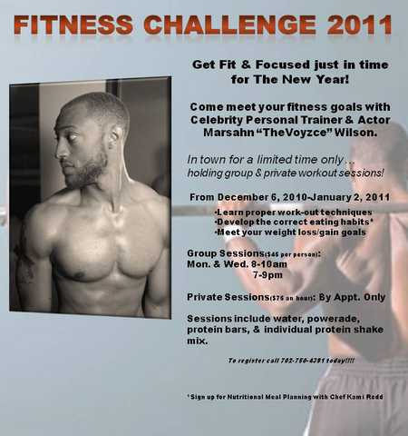 Fitness Challenge For 2011