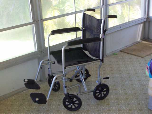 Wheel Chair (Transport) Portable