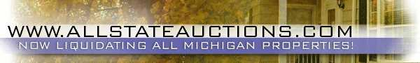 Northern Michigan Online Only Auction! Over 600 Properties!