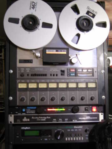 Tascam (Teac) 80 - 8 Reel To Reel With Rack