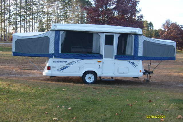 2001 Starcraft Nova Pop - Up Camper