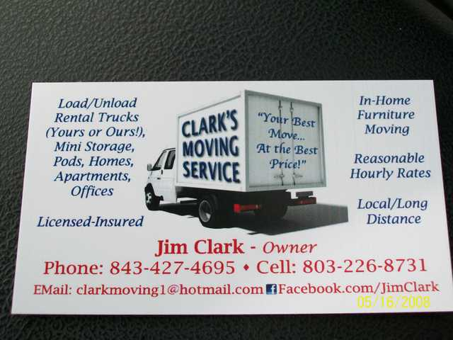 Clark's Moving Service