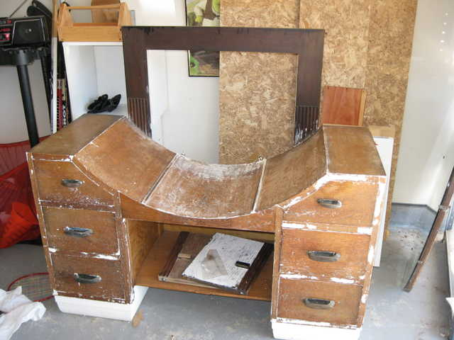 Antique (Art Deco) Vanity