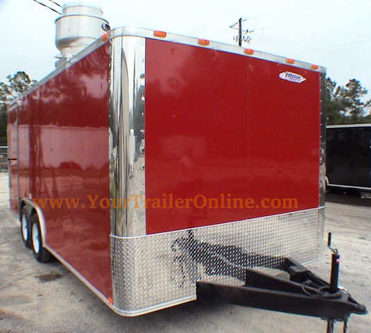 Concession Trailer 8.5 X 18 Tandem Axle